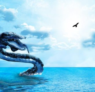 Giant Marine Snakes: ¿Do these weird creatures really exist?